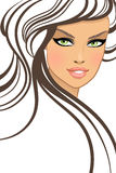 Beautiful girl in fashion style Royalty Free Stock Image