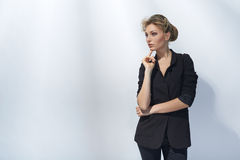 Beautiful girl in fashion style Stock Photo