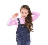 Beautiful Girl Hair Stock Images