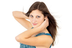 Beautiful girl with healthy skin Royalty Free Stock Photography
