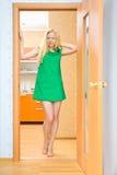 Beautiful Girl at Home Royalty Free Stock Image