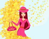 Free Beautiful Girl In Autumn Stock Photos - 30782903