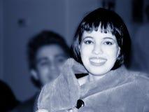 Beautiful Girl In Blue Stock Image