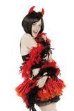Beautiful Girl In Fancy Dress Stock Photography