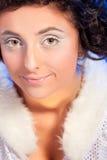 Beautiful girl like Snow White Royalty Free Stock Photo
