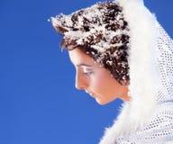 Beautiful girl like Snow White Stock Image