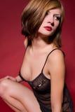 Beautiful girl in lingerie Stock Photo