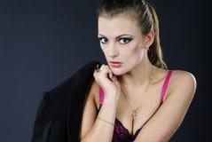 Beautiful girl model Stock Photos