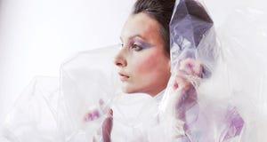 Beautiful girl model Royalty Free Stock Photography