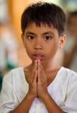 Beautiful girl Myanmar Royalty Free Stock Images