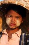 Beautiful girl, Myanmar Royalty Free Stock Image