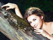 Beautiful girl in national dress Stock Image