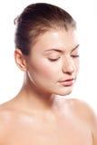 Beautiful girl with natural makeup Royalty Free Stock Photography