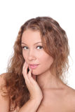 Beautiful girl with nice skin Royalty Free Stock Images