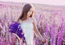 Beautiful Girl Outdoor Royalty Free Stock Image