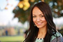 Beautiful girl outdoors royalty free stock photos