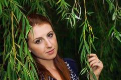 Beautiful girl outdoors. Royalty Free Stock Photos