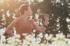 Beautiful girl outdoors Stock Photography