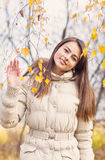 Beautiful girl outdoot Stock Image