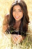 Beautiful girl outside Royalty Free Stock Photo