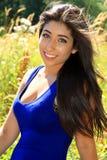Beautiful girl outside Stock Photo