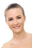 Beautiful girl with perfect face Royalty Free Stock Photos