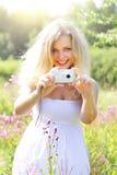 Beautiful girl photographs Royalty Free Stock Images