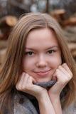 Beautiful girl portrait Stock Image