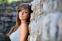 Beautiful girl portrait Royalty Free Stock Photography