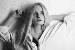 Beautiful girl portrait Stock Images