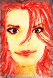 Beautiful girl. Royalty Free Stock Image