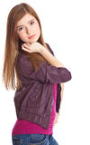 A beautiful girl is posing Royalty Free Stock Image