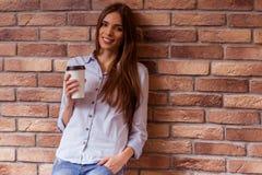 Beautiful girl posing royalty free stock photography