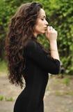 Beautiful girl praying Stock Image