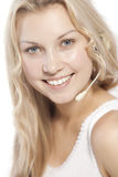Beautiful girl with pretty smile Royalty Free Stock Photos