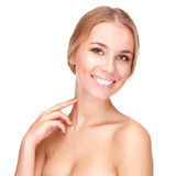 Beautiful girl with pretty smile Royalty Free Stock Image