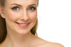 Beautiful girl's face Royalty Free Stock Photography