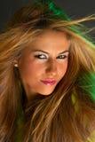 Beautiful Girl's Portrait Royalty Free Stock Image