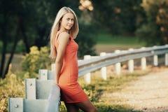 Beautiful girl sensual portrait Stock Photography