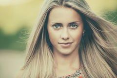 Beautiful girl sensual portrait Stock Images