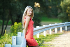 Beautiful girl sensual portrait Royalty Free Stock Images