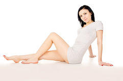 Beautiful girl shapely Stock Photo