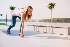 Beautiful girl with skateboard Royalty Free Stock Images