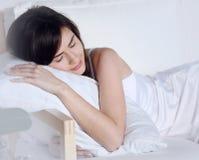 Beautiful girl sleeps Royalty Free Stock Photos