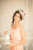 Beautiful girl with a smile Royalty Free Stock Image
