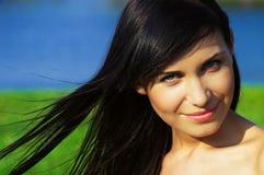 Beautiful girl smiling Stock Image