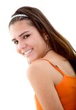 Beautiful girl smiling Royalty Free Stock Photo