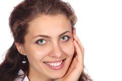 Beautiful girl smiling Royalty Free Stock Image