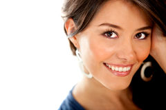 Beautiful girl smiling Royalty Free Stock Photos