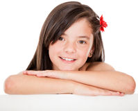 Beautiful girl smiling Stock Photo